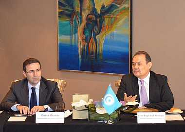 Secretary General of the Turkic Council Baghdad Amreyev met with representatives of Kazakhstan's national media