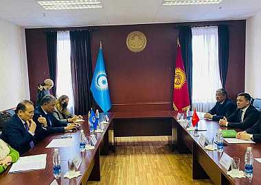 Secretary General of the Turkic Council met with the Minister of Culture, Information, Sports and Youth Policy of the Kyrgyz Republic