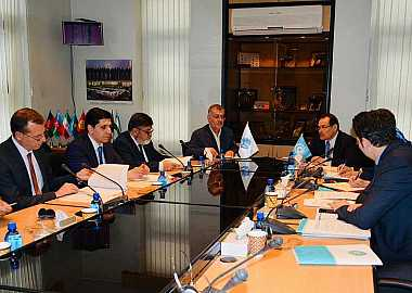 Secretary General of the Turkic Council Baghdad Amreyev, paid a working visit to the Secretariat of the Economic Cooperation Organization (ECO) in Tehran.
