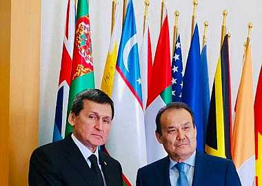 Secretary General Baghdad Amreyev made the first-ever official visit of the Turkic Council to Turkmenistan