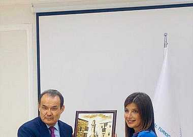 Secretary General of the Turkic Council Baghdad Amreyev visited Turkic Culture and Heritage Foundation