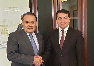 Secretary General of the Turkic Council had several meetings in Baku.