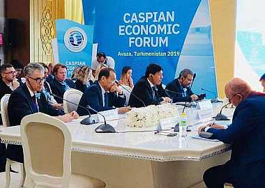 Secretary General of the Turkic Council participated in the Solemn Ceremony of the First Caspian Economic Forum.