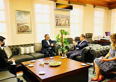 Secretary General of the Turkic Council received the Ambassador of Iran to Ankara