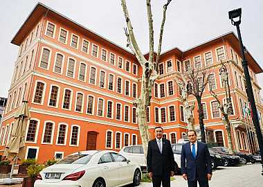 Turkic Council Secretary General received the Ambassador of the Kyrgyz Republic
