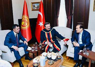 Secretary General of the Turkic Council met with President of the Kyrgyz Republic in Ankara.