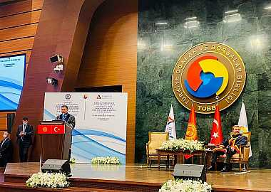 Secretary General of the Turkic Council joined President of Kyrgyz Republic in Turkish-Kyrgyz Business Forum in Ankara