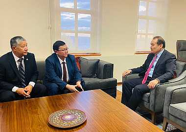 Secretary General of the Turkic Council received the Deputy Minister of Culture, Information and Tourism of Kyrgyzstan.
