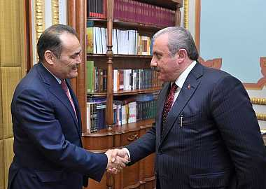 Secretary General of the Turkic Council met with the Speaker of the Grand National Assembly of Turkey