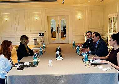 Secretary General of the Turkic Council met with First Deputy Minister of Foreign Affairs of Ukraine.