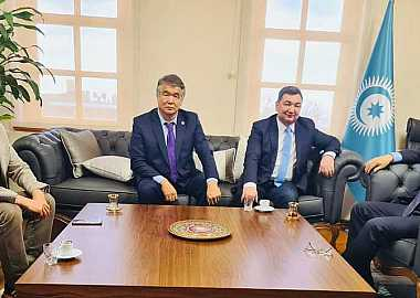 Secretary General of Turkic Council received the President of Turkic Academy