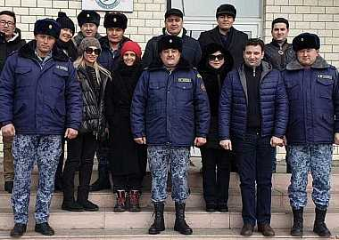 """Turkic Council conducted field visits to """"Irkeshtam"""", """"Altynkol"""" and """"Nur Zholy"""" customs border checkpoints in the framework of the Caravanserai Project."""