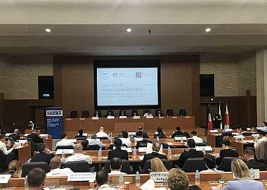Project Director of the Turkic Council Mr. Ersin Aydoğan attended the 2019 OSCE Asian Conference.