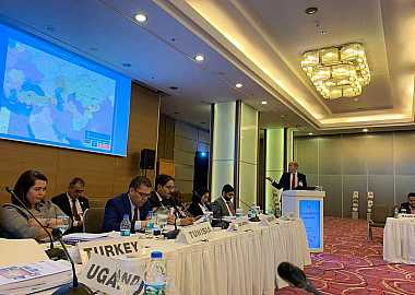 Turkic Council Project Director Ersin Aydoğan attended 14th Meeting of the COMCEC Tourism Working Group.