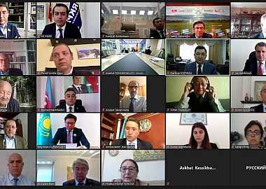 Turkic Council participated in the International Video Conference organized by the Turkic Academy.
