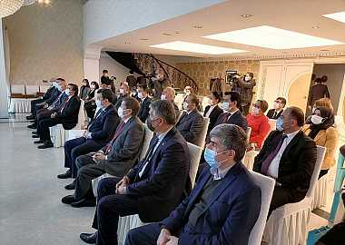 Turkic Council attended the opening ceremony of the Turkic World Tonyukuk Park.