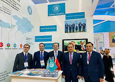 Turkic Council was represented in the Caspian Innovation Technologies Exhibition in Turkmenbashi Port.