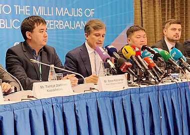Turkic Council International Election Observation Mission held a press conference on the early Parliamentary Elections of the Republic of Azerbaijan