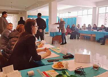 Turkic Council International Election Observation Mission monitors the Early Parliamentary Elections in Azerbaijan.