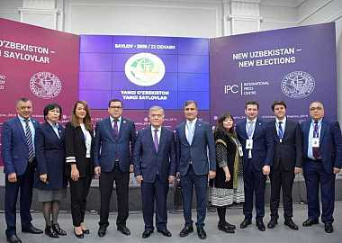Turkic Council International Election Observation Mission presented its statement on the Parliamentary Elections of the Republic of Uzbekistan at a Press Conference in Tashkent.