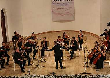 The tour of the TURKSOY Youth Chamber Orchestra organized by TURKSOY in honor of the 10th anniversary of the establishment of the Turkic Council was concluded with the concert in Baku.