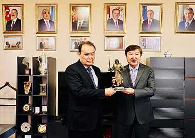 Secretary General of TURKSOY visited the Secretariat of the Turkic Council