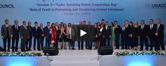 Reception on the occasion of 3rd October - Cooperation Day of Turkic Speaking States, 19 October 2016