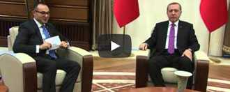 Turkic Council Secretary General Ambassador Ramil Hasanov was received at the Presidential Palace