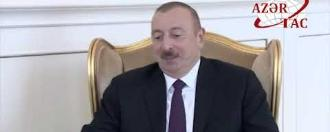 Meeting of the Secretary General Baghdad Amreyev with the President of the Republic of Azerbaijan H.E. Ilham Aliyev